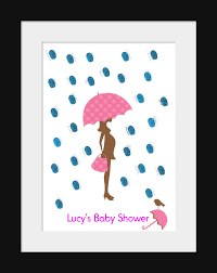 baby shower fingerprint tree dot baby shower fingerprint kit