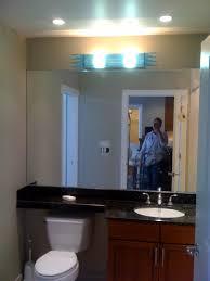 Recessed Lights For Bathroom Recessed Lighting Above Bathroom Vanity Home Design Hay Us