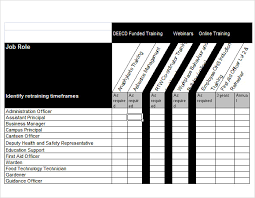 Analysis Template Excel Sle Needs Analysis Template 9 Documents In Pdf Word