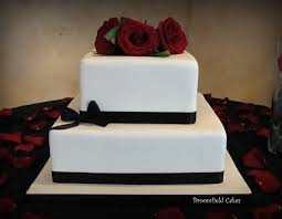 simple wedding cakes simple fondant wedding cake cakecentral