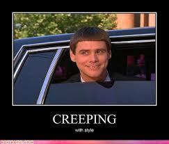 Funny Stalker Memes - the limo makes it less stalker ish jim carrey meme and memes