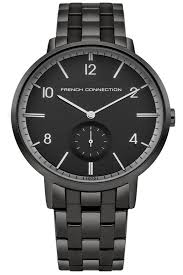 black bracelet mens watches images Men 39 s watches watches for men online french connection jpg&a