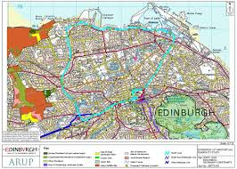 Chicago Suburbs Map Edinburgh Parking Map Edinburgh Parking Zones Map Scotland Uk