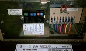 Electrical Service Pedestal Rv Electric 100amp Service Box On Rv Download Wirning Diagrams