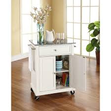 kitchen island cart with granite top crosley white kitchen cart with granite top mobile kitchen island