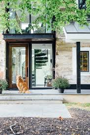 Outside Entryway Decor Best 25 Industrial Front Doors Ideas On Pinterest Home Exterior