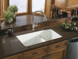 kitchen sinks for granite countertops in best uotsh mesmerizing kitchen sinks for granite countertops outstanding dark brown countertop combined with ceramic white undermount sink