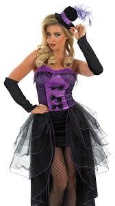 Size Burlesque Halloween Costumes Purple Burlesque Dancer Costume Size Costumes Mega Fancy