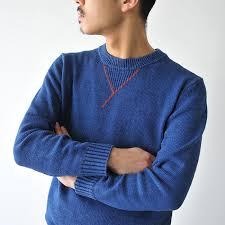 cato sweaters croukalr rakuten global market kato cato indigo dyeing cotton