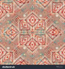 Tribal Print Wallpaper by Tribal Art Ethnic Seamless Pattern Boho Stock Vector 321087629