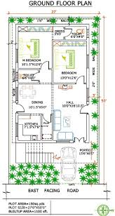 square feet to gaj west facing independent floor plan 200 sq yards land 1500 sq