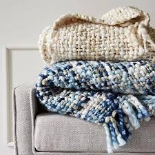 blankets west elm