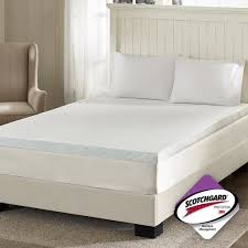 4 Inch Foam Mattress Topper Bedroom 4 Inch Memory Foam Mattress Topper Walmart And Cooling