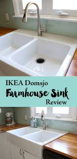 pros and cons of farmhouse sinks ikea domsjo farmhouse sink 1 year review sinks funky junk and