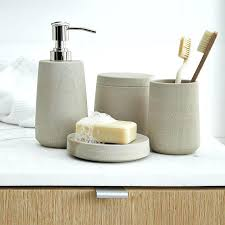 Modern Bathroom Sets Contemporary Bathroom Accessories Sets Modern Bathroom Set For