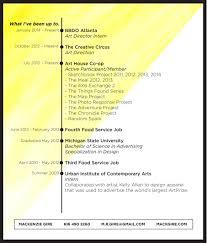 chronicle resume resume mack gire