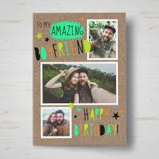 personalised birthday photo cards photo upload birthday cards