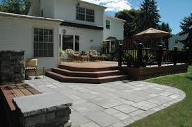 Average Cost Of Flagstone Patio by When You Are Planning To Build A Deck The Cost Of The Deck Will