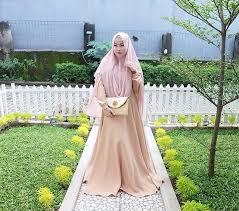 desain baju gamis hamil 13 model baju hamil muslim yang nyaman dan modis