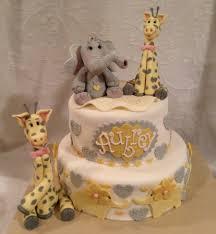 giraffe baby shower cakes giraffe baby shower cake giraffe cake elefant cake gumpaste