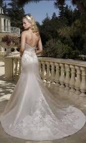 1985 wedding dresses casablanca 1985 849 size 4 un altered wedding dresses