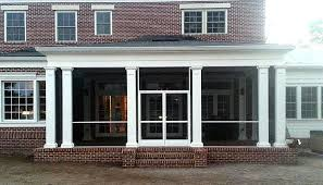 screen porch screen enclosure brick jacksonville