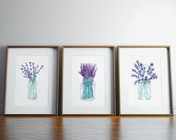 Lavender Home Decor Lavender Decor Etsy