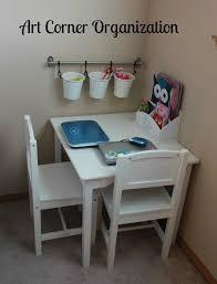 Kids Art Room by Frugal Tips For Organizing Kids Rooms Organize Kids Art Corner