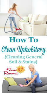 Water Based Upholstery Cleaner How To Clean Upholstery Tips And Instructions