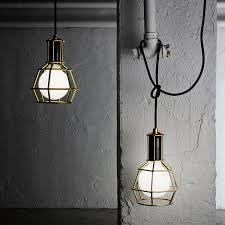 Iron Pendant Light Design House Stockholm Work Lamp