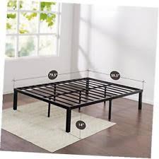 Metal Platform Bed Frames Zinus Quick Lock 14 Inch Metal Platform Bed Frame Mattress