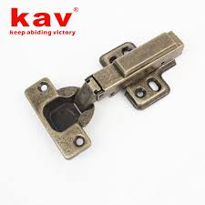 fixed on single action 35mm cup soft close bronze hinge s135hq09 1