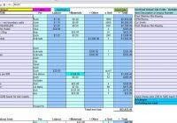free construction estimate template excel and construction bid