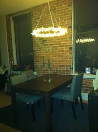 Ikea Lights Hanging by 29 Dining Room Makeover With Led Lights Roomology