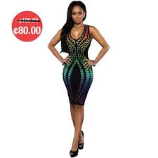 bandage bodycon dress u2013 klique gh