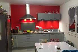 cuisine gris souris réalisations meubles gris souris sur mur de cuisines avec