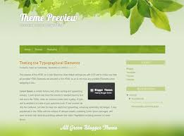 templates blogger themes all green blogger theme blogger themes and blogger templates