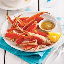 assiette de cuisine assiette de crabe des neiges recettes cuisine et nutrition
