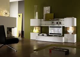 Tv Table Decorating Ideas Interior Design Outstanding Modern Green Living Room With White