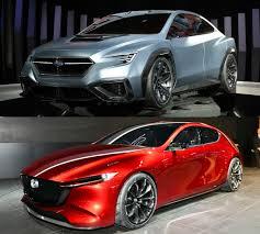 subaru concept viziv 2017 tokyo motor show stars subaru viziv performance concept and