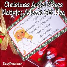 christmas angel kisses nativity advent gift idea day 9 everyday