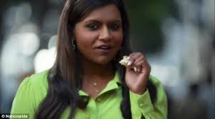 amica commercial actresses matt damon denies mindy kaling a kiss in nationwide super bowl