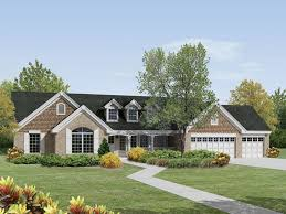 traditional country house plans brick ranch home plans with country porch st laurent country
