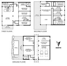 ultramodern four bedroom house plans floor plan ultra new in d