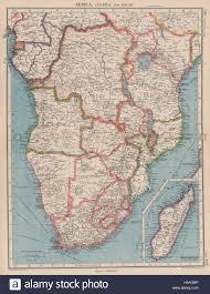 Southern Africa Map by Southern Africa Belgian Congo Rhodesia Bechuanaland Tangyanika
