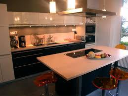 cuisine ouverte ilot central ilot central cuisine lancelin fils cuisiniste conception