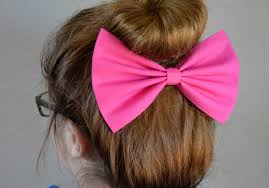 hair bow pink hair bow hair bows for women fabric bows hair bow
