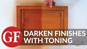how to darken white cabinets how to darken an existing finish by toning update kitchen