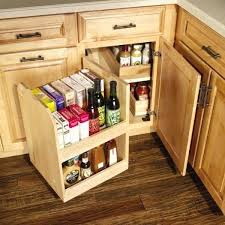 outdoor kitchen corner cabinet awesome 5 solutions for your kitchen corner cabinet storage needs