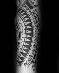 40 polynesian forearm tattoo designs for men masculine tribal